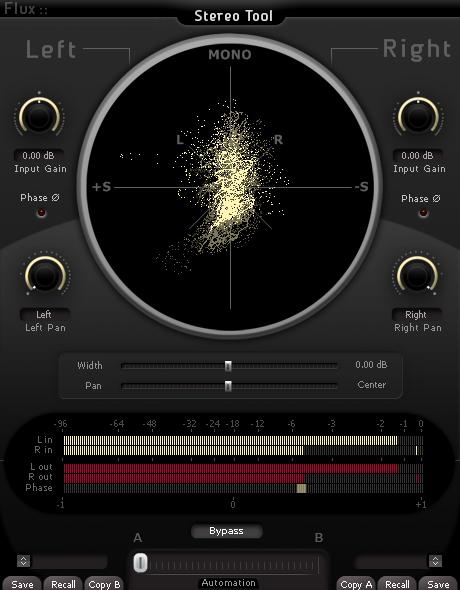 Flux Stereo Tool