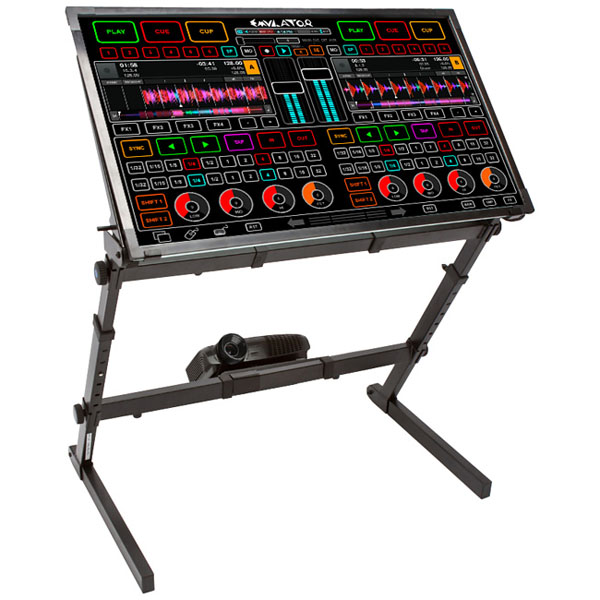 Emulator DJ Touchscreen