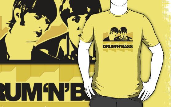 t-shirt drumnbass