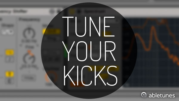Kick Drum Tuning in Ableton Live