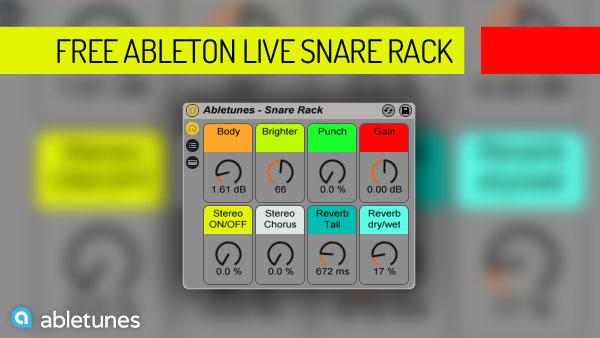 Ableton Live Snare Rack
