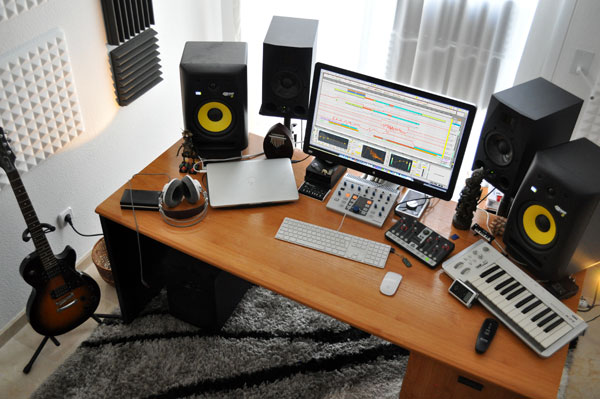 ableton-studio-workspace
