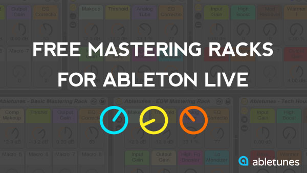Free Mastering Racks for Ableton Live 9