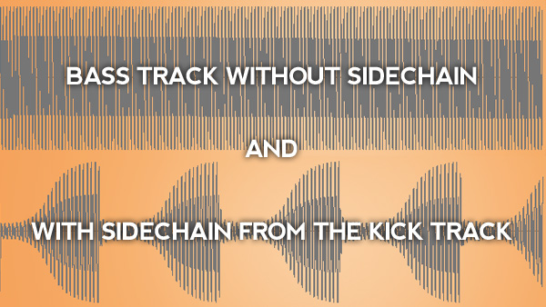 Sidechain Compression Before and After