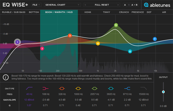 EQ WISE+ Parametric EQ with Built-in EQ Charts :: Abletunes
